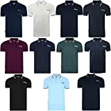 Picture Of Lambretta Mens Classic Logo Target Short Sleeve Polo Pique Tee T-Shirts