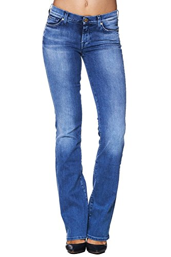 7 for all Mankind Jeans SKINNY BOOTCUT Miami Blue – Blau