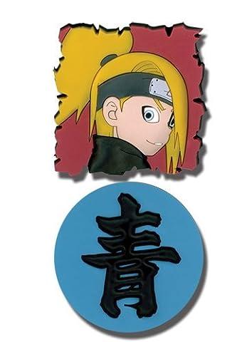 Naruto Shippuden PVC Pin Set Deidara and Kanji