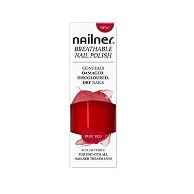 Nailner Breathable Nail Polish Rosy Red