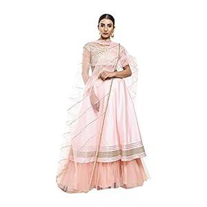 Pushp Paridhan Raw Silk Lehenga Choli