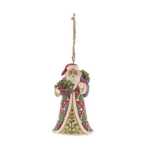 Preisvergleich Produktbild Heartwood Creek Pinecone Santa Hanging Ornament