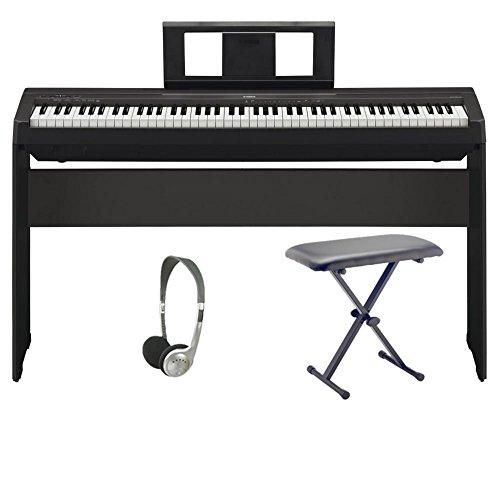 Yamaha p45 digital piano pro bundle keyboards zone for Yamaha p45 keyboard