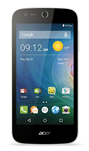 Acer Liquid Z330 Dual-Sim LTE Smartphone (11,3 cm (4,5 Zoll) IPS Display, 854 x 480 Pixel, Quad-Core-Prozessor, 5 Megapixel, 1GB RAM, 8GB Speicher, Android 5.1)