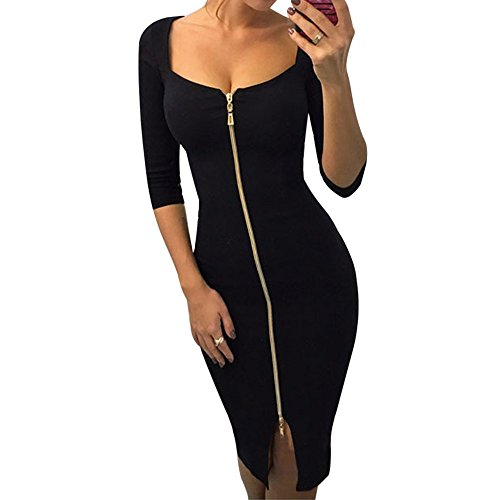 Robe noire femme amazon