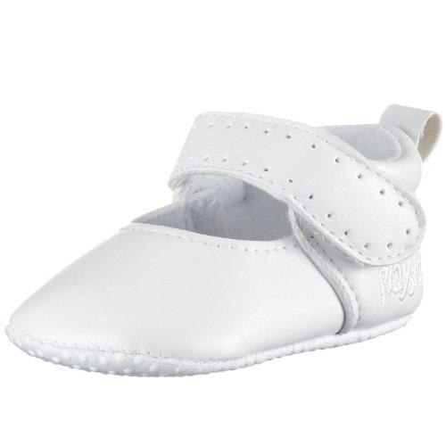 Playshoes Baby-Sandale klassisch 111627, M盲dchen Babyschuhe Wei