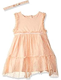 MINI KLUB Baby Girls'Knee-Long Dress (Pack of 2)
