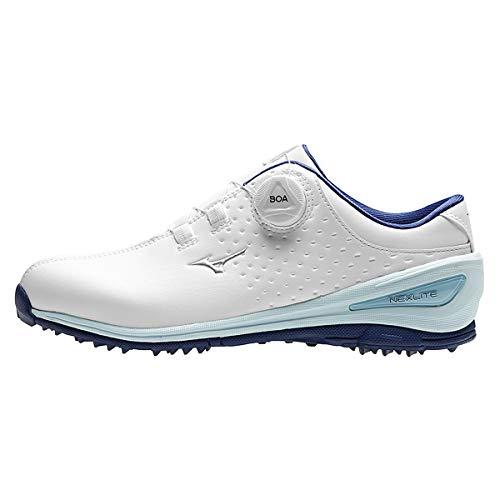 Mizuno , Chaussures de Golf pour Homme - Blanc - Blanc/Bleu...