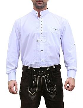 Trachtenhemd Hemd für Trachten L