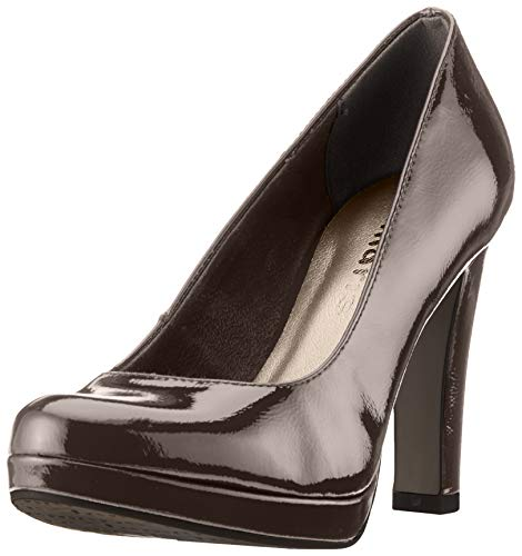 Tamaris Damen 1-1-22426-22 Pumps, Schwarz (Black PATENT 18), 37 EU -