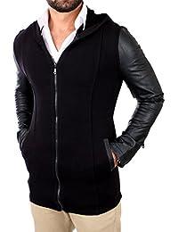 Young Rich Herren Hoodie Long Oversized Zipper Sweatshirt Schwarz Weiß Grau  Anthrazit Rot Blau 901 · EUR 14,99 · Young   Rich Sweatjacke Hooded Long  Style ... 54a84cd463