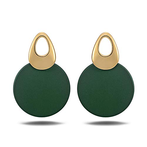 Viennois Fashion Jewelry - Pendientes tuerca mujer