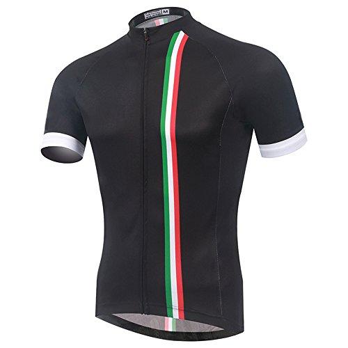 Spoz Men Short Sleeve Cycling Jersey Top M