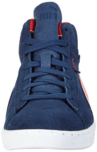Puma Puma 1948 Mid GTX Unisex-Kinder Hohe Sneakers Blau (dark denim-high risk red 04)