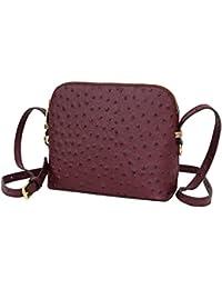 199c359ec9a9b AMBRA Moda Damen Handtasche Umhängetasche Leder Tasche klein SL702