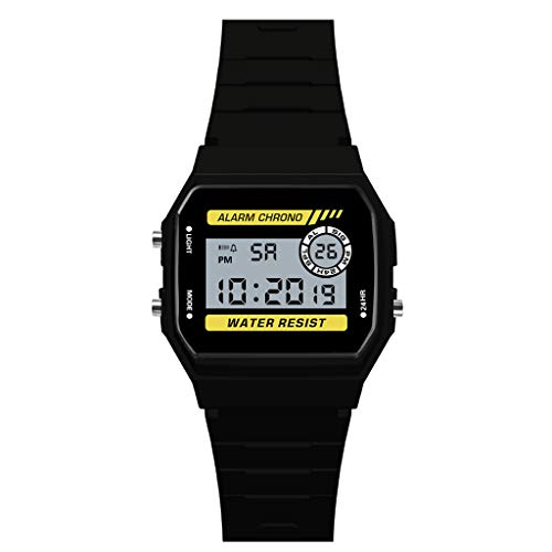 Digitale Uhren Uhren Diskret Skmei Led Digital Sportuhren Männer Edelstahl Top-marke Luxus Countdow Zeitzone Wasserdichte Led Elektronische Digitaluhr