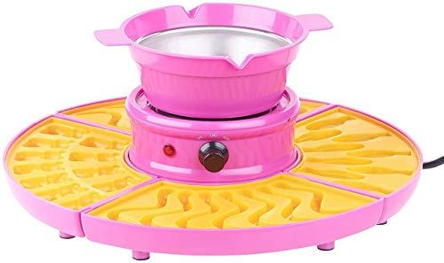 Monsterzeug Gummibärchen Maschine, Süßigkeiten selber Machen, Fruchtgummi Schokokonfekt, Maker Set mit Förmchen, Pink, 31 x 10 cm