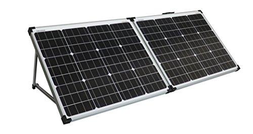 enjoysolar Solarkoffer faltbare Solarmodule einfach plug and load (100W (2 * 50W))