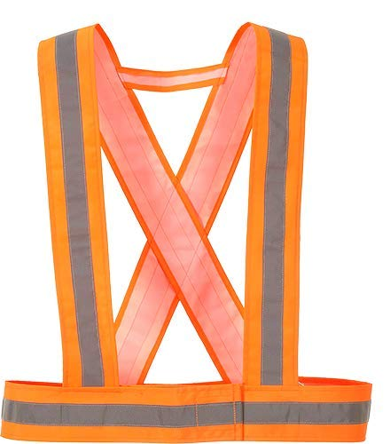 Portwest Hv55orr Sangle haute visibilité, Orange
