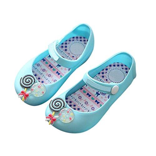 Süß Anti Jungen Mädchen Flaches Niedlich rutsch Lässige Süßigkeiten Blau Regen Schuhe Weich Gelee Kleinkind Meijunter Sandalen Baby Stiefel Kinder Strand 8vtW1