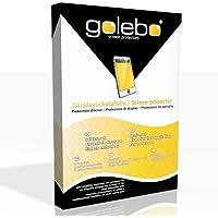 GOLEBO 6X Semi-Matt Protectores de Pantalla para Garmin Edge 520 - (Efecto antirreflectante, Montaje Muy fácil, removible sin residuos)