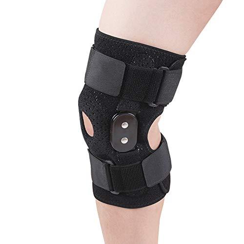 AOPAWOX Verstellbare Kniebandage für Frauen Männer, Einstellbare Unterstützung für Sport Trauma, Verstauchungen, Arthritis, ACL, Meniskus Tränen, Bänder Verletzungen