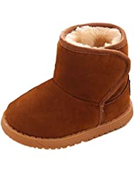 Xinan Hiver Bébé Enfant Coton Style Boot Bottes de neige chaud