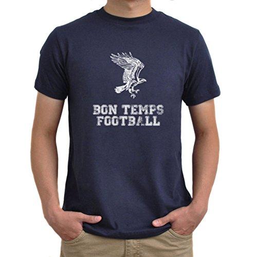 Maglietta Bon Temps Football Blu navy