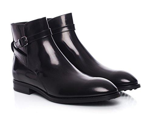 Bottes Tod's homme en Cuir veau brillant noir - Code modèle: XXM0PZ02130AKTB999 Noir