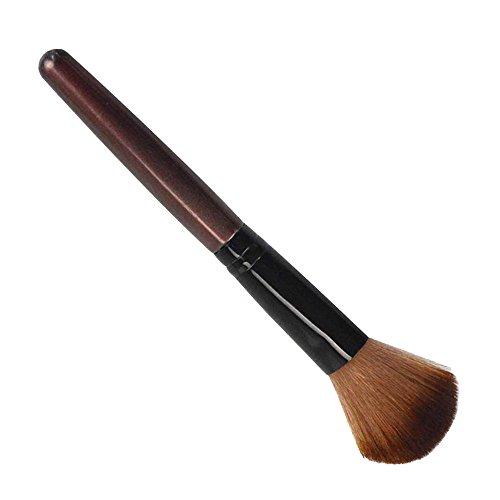 Pinceaux Maquillage,Fond De Teint Doux Visage Poudre Fond Blush Pinceau Maquillage Outil CosméTique Poils Synthetiques Doux Et sans Cruauté