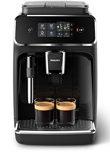 Philips Kaffeevollautomat (klassischer Milchaufschäumer und SensorTouch Benutzeroberfläche)