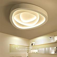 Malovecf Moderne Deckenleuchten Fr Wohnzimmer Schlafzimmer Kche Lampe Acryl Lampenschirm Weiss Eisen Home Beleuchtung LED