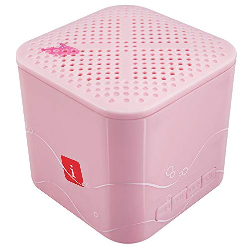 iBall Musi Kids - Wireless Mini Bluetooth Speakers for Kids (Baby Pink)