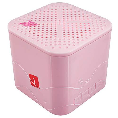 iBall Musi Kids - Wireless Mini Bluetooth Speakers for Kids (Baby Pink)