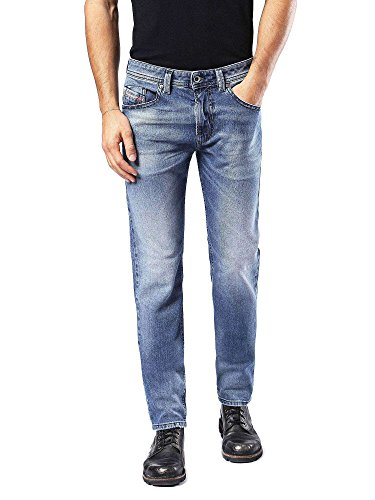 Diesel Herren Skinny Jeans 00sw1q, Blau (01), 31W / 32L -