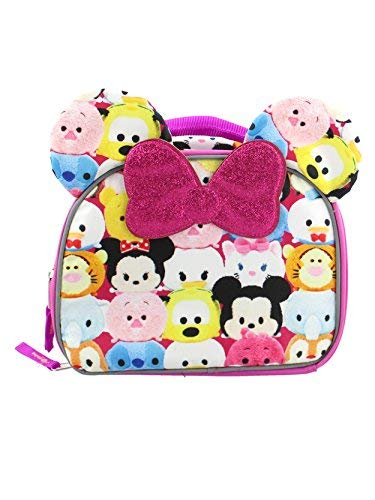 tsum tsum Mädchen Soft Lunchbox One Size Rosa/Multi (Pluto Lunch-box)