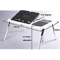 طاولة لاب توب مزودة بقاعدة تبريد طراز-N66