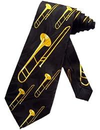 cravate Steven Harris Trombone - Noir - taille unique
