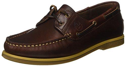 Lumberjack Navigator Sm07804, Mocassins (loafers) homme Marrone (Brunello/Tan)