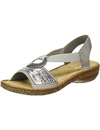 Suchergebnis auf Amazon.de für  rieker sandaletten grau - Nicht ... 294bebad6b