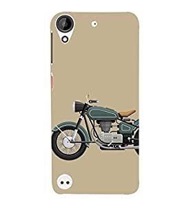Fiobs Designer Back Case Cover for HTC Desire 530 (Bike Motorcycle Cool Vehicle Swag Boy )