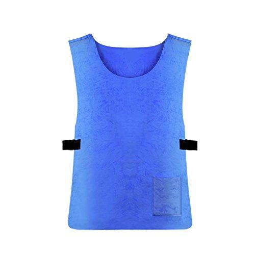 Preisvergleich Produktbild Kühlweste Leichte Kühl-Weste für Damen Herren, Pacific Blue