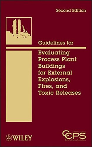 Guidelines for Evaluating Process Plant Buildings for External Explosions, Fires, and Toxic Releases (Wiley Series on Technologies for the Pharmaceutical Industry)