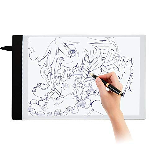 Considerate 1pc A4 Led Art Stencil Board Light Pad Tracing Drawing Table Board For Kids Artists With Cable Art Sets Painting Supplies