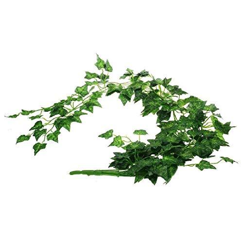 Peng Sheng Reptilien-Terrarium, künstliche Kunststoffpflanzen, Blätter, Reben Amphibien, Eidechse, Habitat, ungiftig