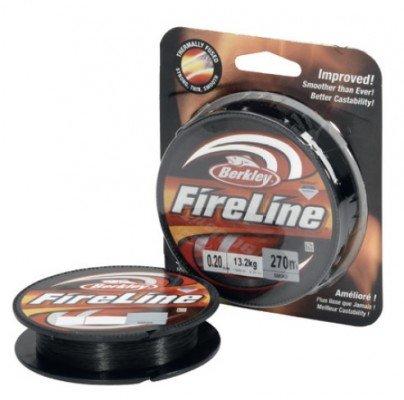 Berkley Fireline smoke 270m Spule 0,12mm 6,8kg