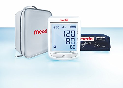 Medel 95123 Misuratore di Pressione da Braccio Automatico, Bianco