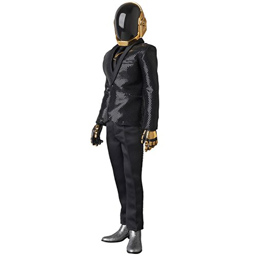 Punk Cosplay Daft Kostüm - Unbekannt Medicom Daft Punk: Guy-Manuel de homem-Christo Real Action Heroes Figur (Random Access Memories Version)