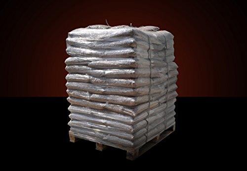 ▶ Buchenholz Holzpellets zum Grillen, Räuchern Smoken, *0,42€/kg*, 960kg auf Palette, kostenfreie Lieferung, handlich verpackt in 64 Pakete à 15kg, Holz-Pellets, Buchen-Pellets