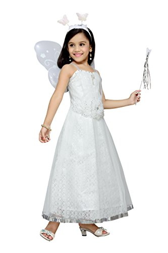 aarika girl s christmas angel gown with butterfly wings fashion